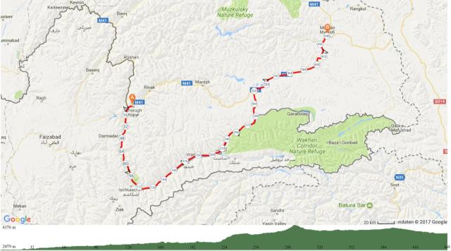 2 Khorog-Wakan Korridor-Murgab 450 km 4500Hm