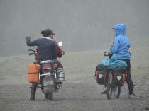 inzwischen löst das Moped die Pferde ab