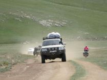 Abfahrt ins Orkhon-Tal