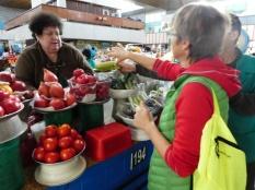 Auf dem Green Market