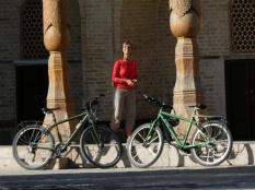 Stadtbesichtigung mit Rad