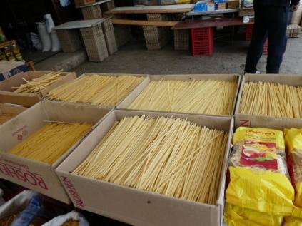 Spaghetti in vielen Formen