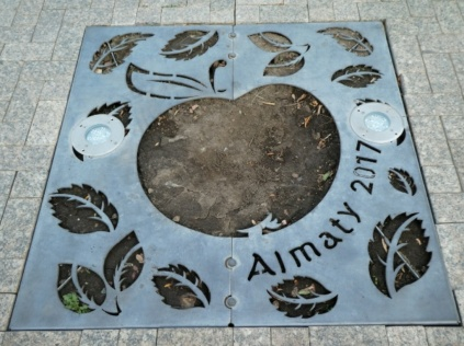 Almaty Apfelstadt