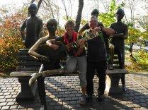 Beatles - Denkmal im Kok-Tobe-Park