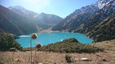 Der Big-Almaty-Lake