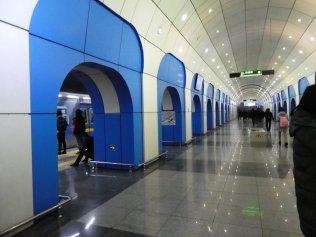die Sation Baikonur erinnert optisch an den Weltraumbahnhof