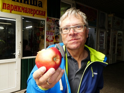 "Almatys ""berühmte"" Apfelsorte Aport"