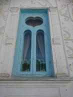 Fenster am Sommerpalast Buchara