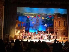 in der Oper Liebestrank von Donizetti