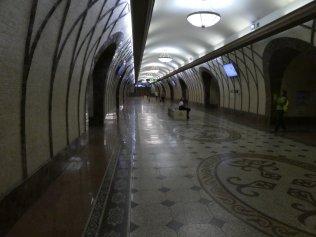 Metrostationen Zhibek Zholy