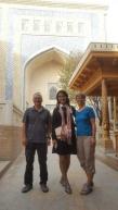 Mit Munisa unterwegs in Khiva
