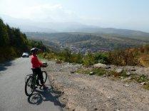 Radtour durch die oberen=besseren Stadtviertel