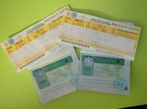 Turkmenistan Visum und Zugkarten nach Usbekistan