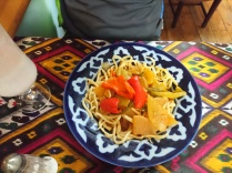 Vegetarisches Laghman