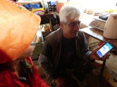 Kommunikation mit Google Translate App