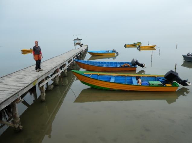 Hafen von Bandar -e-Gaz