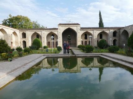 Die alte Moschee in Farahabad