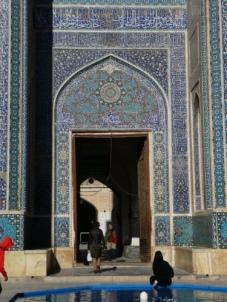 Eingang zur Jame Moschee
