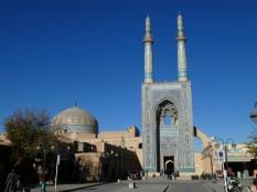 Eingang der Jame Moschee