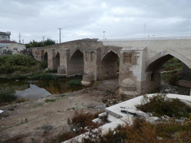 Steinbrücke in Aq-Kala