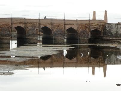 Brücke in Varzaneh