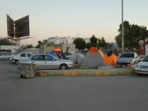 Zeltgefährten in Bandar Abbas