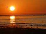 Sonnenuntergang in Kangan