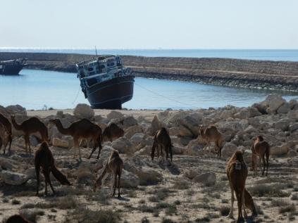 Südküste von Qeshm eine Lenj