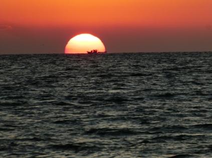 Sonnenaufgang in Bandar Abbas