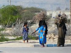 Frauen in traditioneller Kleidung auf Qeshm