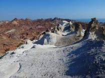 Blick von oben auf Hormuz