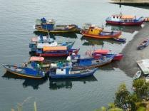 Isla Tenglo Hafen
