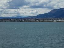 Einfahrt nach Puerto Natales