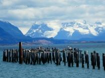 Genial, Blick vom Hafen Richtung Paine