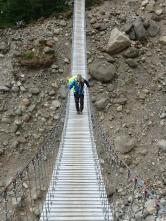 Hängebrücken hinter Camp Paso