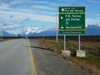 Start in Puerto Natales