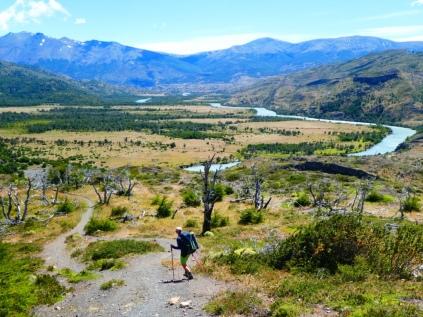Trail zum Campamento Serón