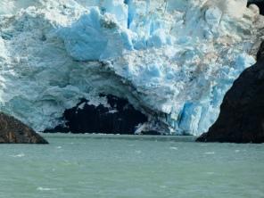Gletscherbruch am Perrosgletscher