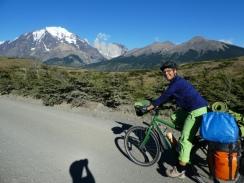 Tolles Panorama beim Radeln