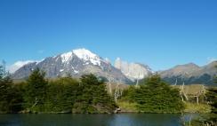 Zeltplatz nahe der Laguna Armarga mit Blick auf die Torres