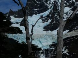 Der Frances Gletscher nach dem Eisabbruch