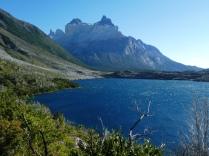 Blick auf den Cuerno del Paine
