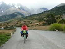 Rausfahrt vom Torres del Paine