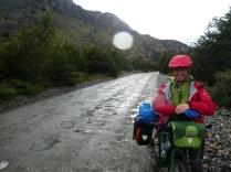 auf dem Weg zum Lago Desierto