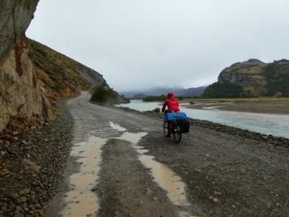 Richtung Lago Desierto