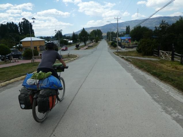 Ortseinfahrt Cochrane