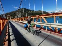 Brücke über den Rio Baker, hier beginnt der Lago General Carrera