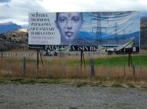 Plakat der Dammgegner