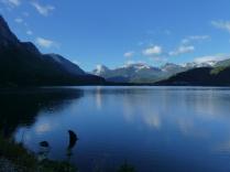 Morgenstimmung am Lago Torres