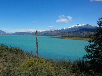 am Lago General Carrera